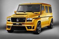 Gsc Mercedes G Class Is The G Wagon Goldstorm Car Tuning