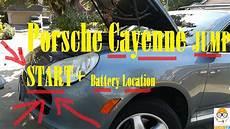 Porsche Cayenne Jump Start And Battery Location 2004