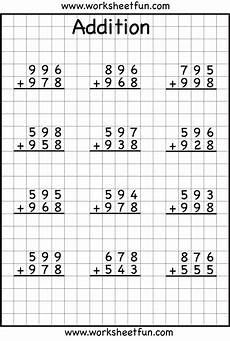 math regrouping addition worksheet 3 digit addition with regrouping carrying 6 worksheets