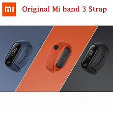 Original Silicone Colorful by Original Xiaomi Mi Band 3 Colorful Silicone Wrist
