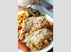 crock pot amish dinner_image