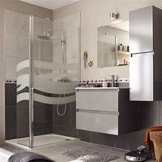 salle de bains contemporaine grise leroy merlin