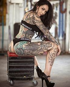 image about girl in tattoos by amerikato on we heart it