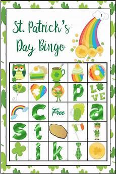 s day bingo printable free 20509 free printable st s day bingo 40 cards