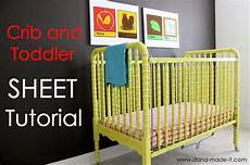 easy tutorial sewing crib sheets sewing tutorials pinterest