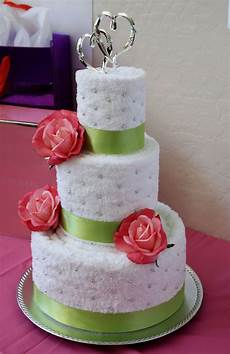 amazing towel cakes images bridal shower towel cake a mom s take product reviews