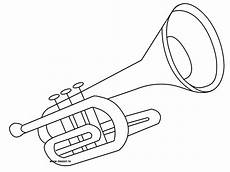 coloring trumpet coloring pages trumpets