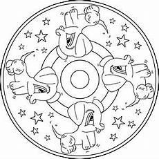 Malvorlagen Mandalas Kinder Mandalas On