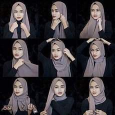 Tutorial Pashmina Ala Hijabers Di 2020 Casual
