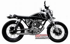 Honda Gl Max Modif by Modifikasi Honda Gl Max Jakarta Permainan Bulat Klasik