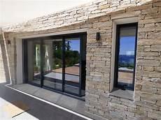baie vitrée pvc 5914 fen 234 tre aluminium et baie vitr 233 e coulissante aluminium doors baies vitr 233 es maison et baie