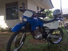 Thunder Modif Trail by Suzuki Thunder 125 Modifikasi Trail Thecitycyclist
