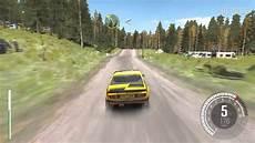 dirt rallye ps4 dirt rally ps4 gameplay opel kadett gt e rallye finlande