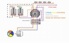 three phase dol starter wiring diagram direct online starter animation diagrams electrical