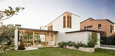 modern glass house open landscaping decorations glass walls open the living areas of this house to