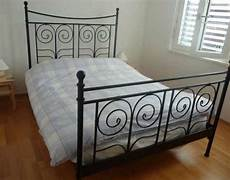 Lovely Ikea Black Metal Bed Frame Can Deliver