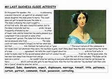 how to teach my last duchess teaching resources