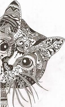 best 25 cat mandala ideas on coloring