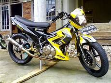 Satria Fu Modif Trail by Suzuki Satria Fu Modifikasi Trail Thecitycyclist