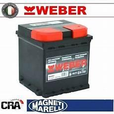 batterie voiture 50ah batterie weber magneti marelli pour voiture w50nd 50ah 12v 450a pr 202 t 224 ebay