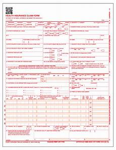 custom cms 1500 form personalized printed claim form cms 1500 imprinted