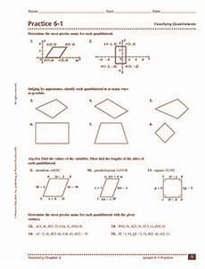 classifying and categorizing worksheets for 3rd grade 7941 practice 6 1 classifying quadrilaterals 9th 11th grade worksheet lesson planet