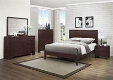 homelegance kari bedroom set warm brown cherry b2146 bed