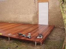 Im Und Um Haus Und Garten Bau Einer Holzterrasse
