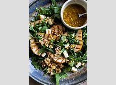 halloumi and pear salad_image