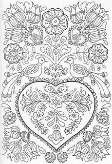 scandinavian coloring book pg 41 color pages stencils