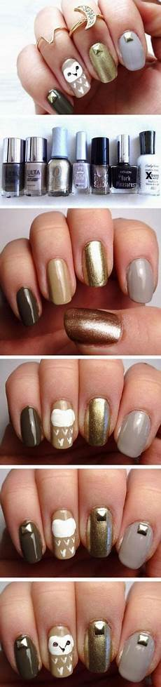 nails fall short easy 25 ideas with images fall nail