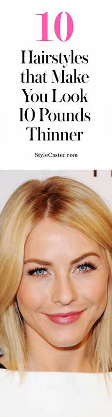 hairstyles to make your face look thinner