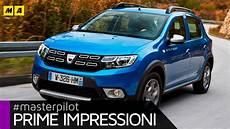 Dacia Sandero Restyling Primo Test Sub