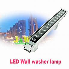 outdoor led wall washer light 2pcs per lot led wall washer light 12w ip65 outdoor lighting led flood light ac 85 265v in