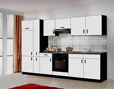 Günstige Küchen - k 252 che blacky ii 300cm k 252 chenzeile k 252 chenblock variabel