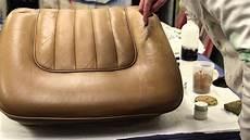 recoloration cuir auto l entretien du cuir