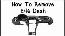 how remove dash on a how to remove e46 dash youtube