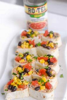 easy party appetizer taco pinwheels fantabulosity
