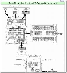 9 Best Images Of 2002 Altima Fuse Box Diagram 2012