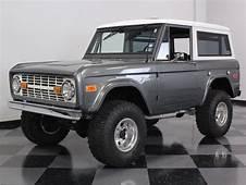 1970 Ford Bronco In Liquid Platinum  Pickup
