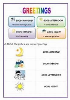 translation exercises for beginners 19148 greetings for beginners esl worksheet by lucak f