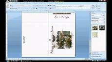 card template microsoft word ms word tutorial part 2 greeting card template