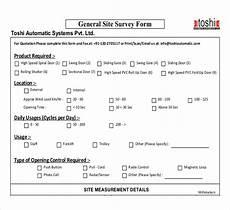 site survey template 12 free word pdf documents download free premium templates