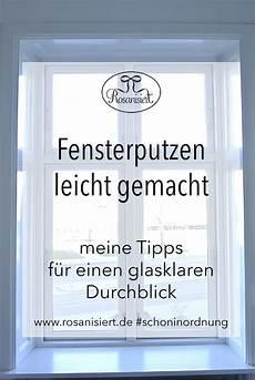 Fensterputzen Einfach Und Streifenfrei Haushalt Putzen