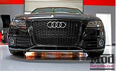 b8 audi rs4 style grille install drop with h r springs