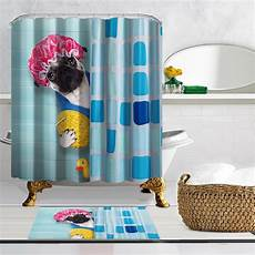 yellow duck shower curtain with shower cap yellow duck waterproof