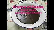 crema pasticcera al cacao senza uova crema al cacao senza uova per allergici al latte bimby tm5 youtube