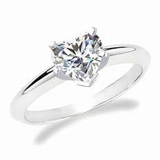 heart shaped simple engagement ring my dream wedding day heart engagement rings heart