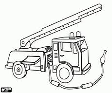 rescue vehicles coloring pages 16411 για ζωγραφική πυροσβεστικό όχημα με σκάλα rescue vehicles emergency vehicles coloring pages