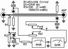 swr meter circuit diagram circuit and schematics diagram simple swr and pwr meter download free wiring diagram